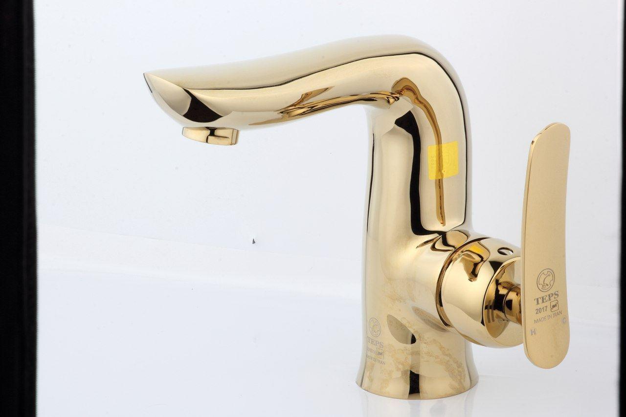 شیرالات اهرمی مدل آلپس طلایی تپس